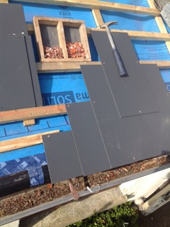 Leaking Low Pitch Slate Roof Kilduff Construction